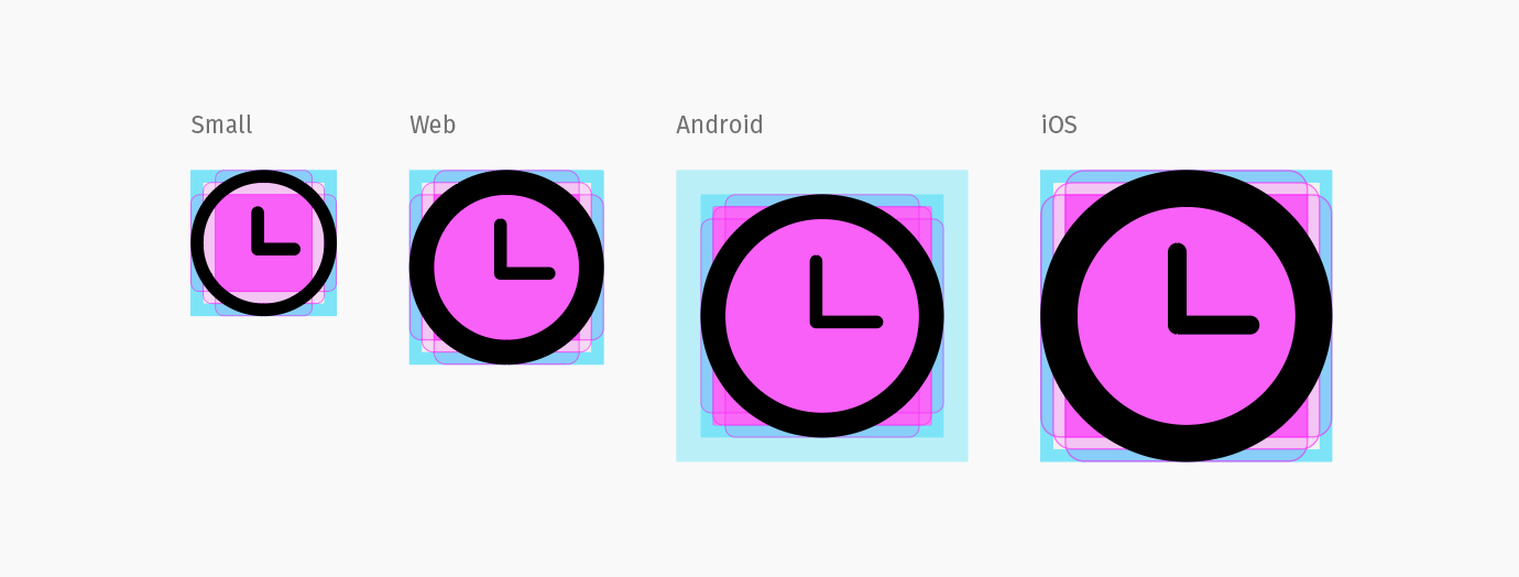 Icon templates screenshot